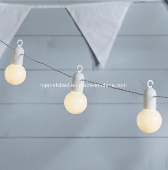 20 Warm White Indoor Outdoor Use Hanging LED Festoon Party Lights pictures & photos