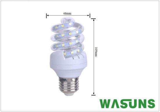 China T3 Full Spiral Led Lampen E27 B22 Light Corn China Led