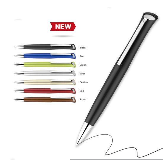 Wholesale 2019 New Premium Plastic Ballpoint Free Ball Pen Sample, Blank  Black Promotion Pens