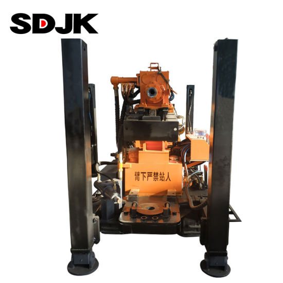 Wholesale 180m Hydraulic Water Well Rotary Drilling Rig Machine