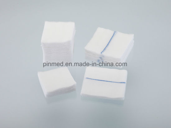 Pinemd Hot Sale Gauze Swabs pictures & photos