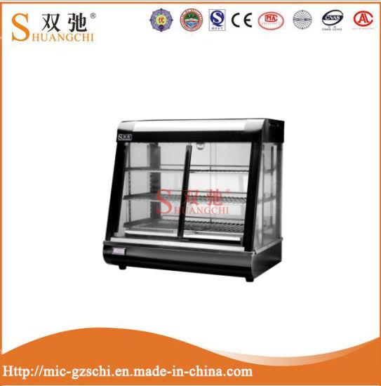 Ce Curved Glass Warming Showcase (food display warmer)