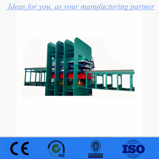 Factory Direct Sale Rubber Plate Vulcanizing Press/Automatic Rubber Plate Vulcanizer pictures & photos