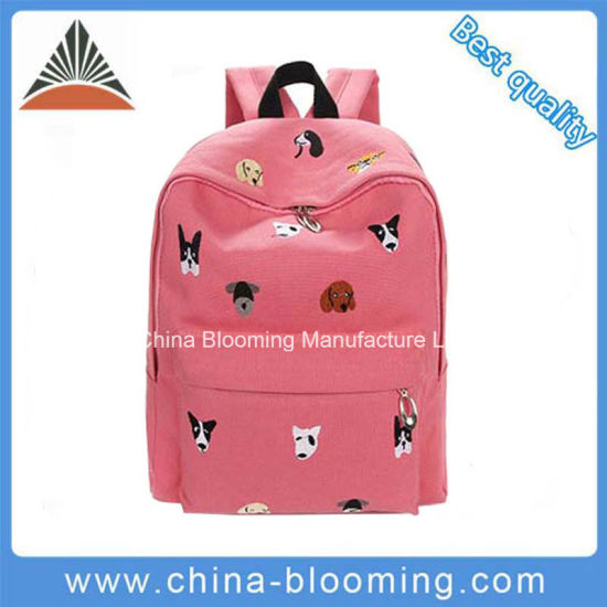 Canvas Embroidered Lovely Children School Bags Kids Backpacks for Girls Bag  pictures   photos bee0b72cdc
