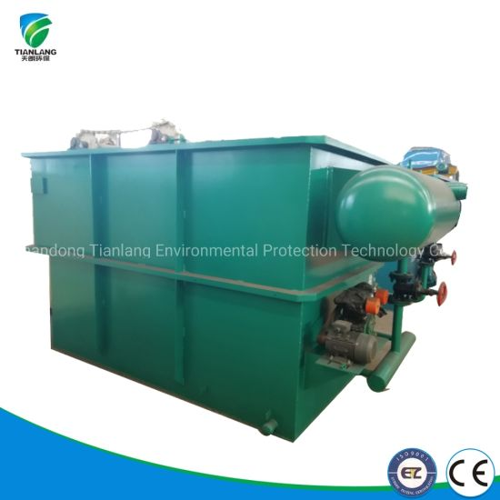 High Quality Daf Wastewater Treatment Treat Vegetable Oil Waste