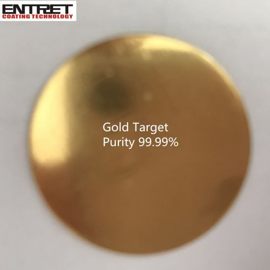 Gold Sputtering Target at 99.99 % Purity, Au Target pictures & photos