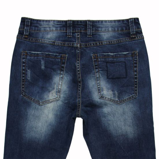 High Quality Men′s Straight Denim 2017 (MYX07) pictures & photos
