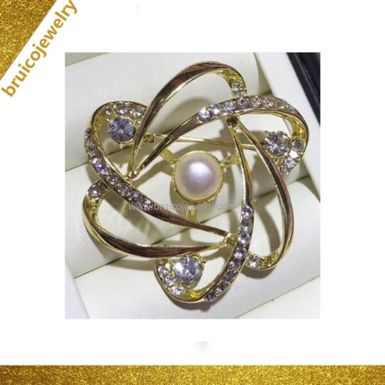 123511506 China Wholesale Promotion Gift Custom Brooches Jewelry Vintage Pearl ...