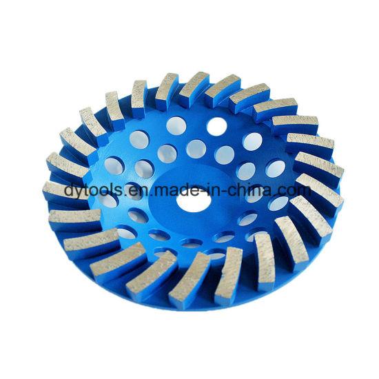 "3 -7/"" NEW POWER TURBO DIAMOND CUP WHEEL 24 SEG 4 HARD CONCRETE STONE MASONRY Pcs"