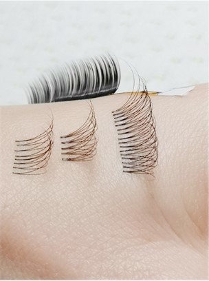 Wholesale Deluxe Various Individual Mink Eyelashes Extension with Packaging