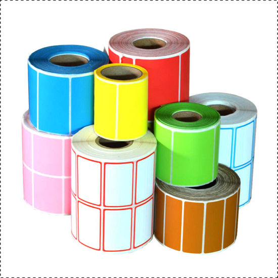 Factory Price Packaging Adhesive Shipping Coloured Printed Direct Thermal Label