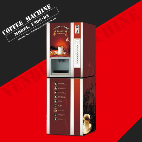 with Ce Approved F306-Gx Instant Powder Coffee Vending Machine