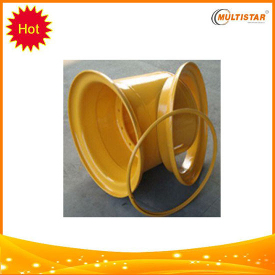 Heavy Duty Steel OTR Wheel Rim for Construction, Mining, Material Handling pictures & photos