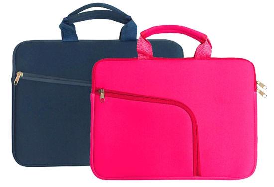 Business Waterproof Color Computer Bag Laptop Bag/Sleeve with Handle