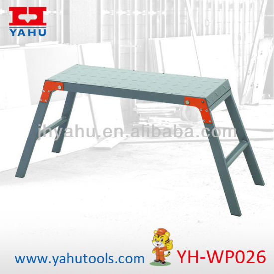 Foldable Work Platform Adjustable Step Ladders Used Mobile Work Platform (YH-WP026)
