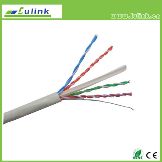 China High Quality CAT6 UTP 4pairs Coaxial Network Wire LAN Cable ...