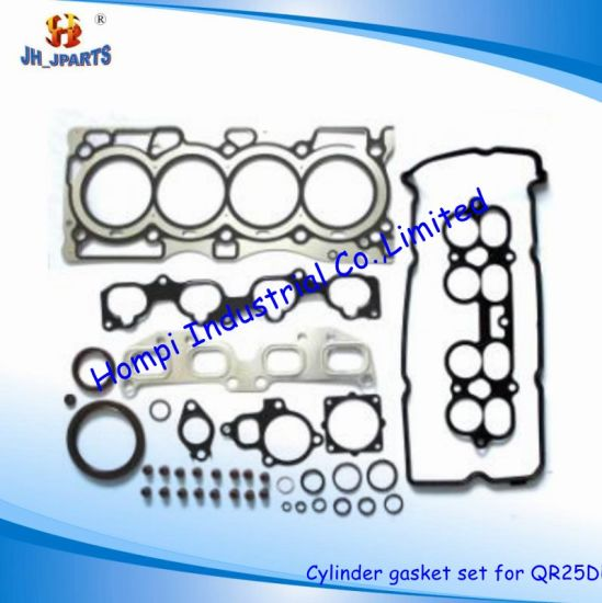 China Auto Parts Cylinder Head Gasket/Gasket Kit for Nissan