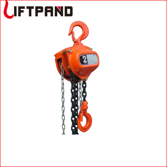 Kii Heavy Duty Chain Pulley Block and Tackle Chain Come Along