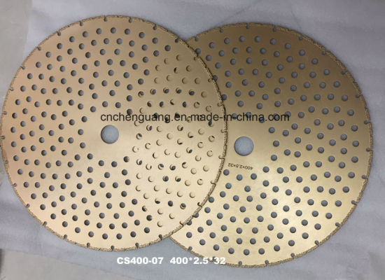 Vacuum Brazed Diamond Saw Blades, Finger Joint Cutter pictures & photos