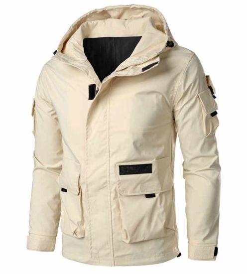 Autumn Windproof Military Uniform Leisure Motorcycle Jacket Plus Size Men's Jacket