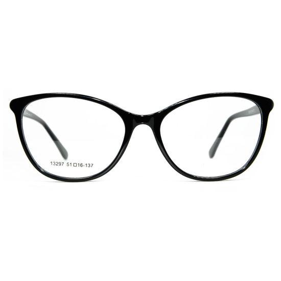 China Diamond Cat Eye Latest Glasses Frame for Girls Acetate ...