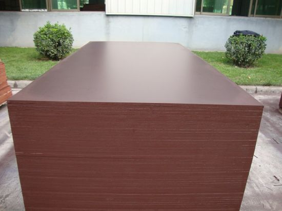 Shuttering Plywood/Brown Film Faced Plywood for Concrete Formwork pictures & photos