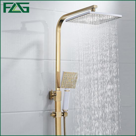Flg Gold Bathroom Luxury Shower Set