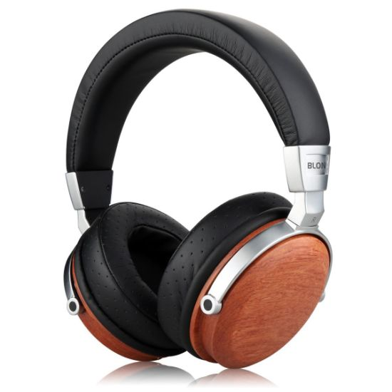 Over-Ear Headphones with in-Line Microphone, Tangle-Free Noise-Isolating Wired Stereo Headphone