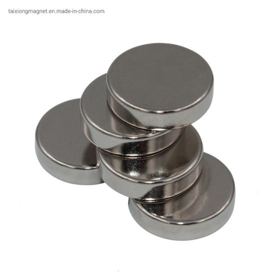 N35-N52 Ni Coating Large Neodymium Magnets Powerful