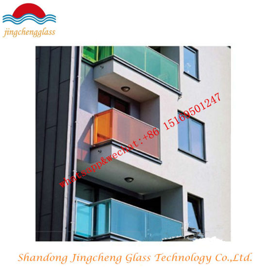 6.38mm Color Insulated Glass/Sandwich Glass /Laminated Glass/Pair Glass Price pictures & photos