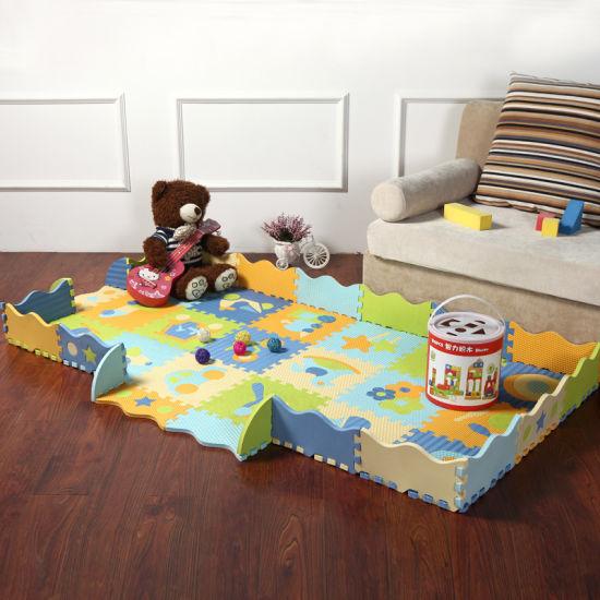 Tile Interlocking Kids Play Puzzle Eva