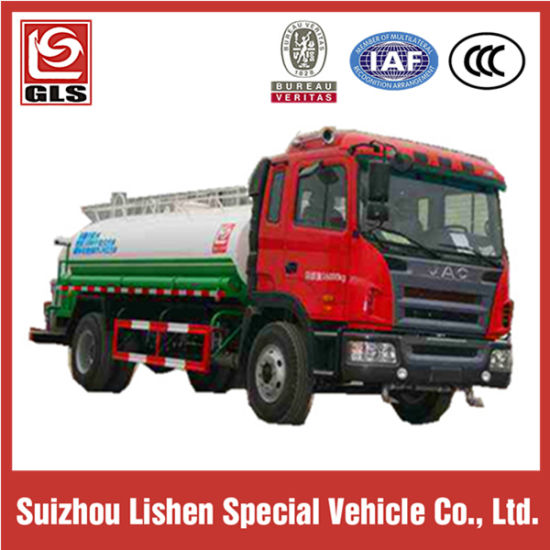 10000L Water Sprinkler Truck with Double Axle JAC Chassis pictures & photos