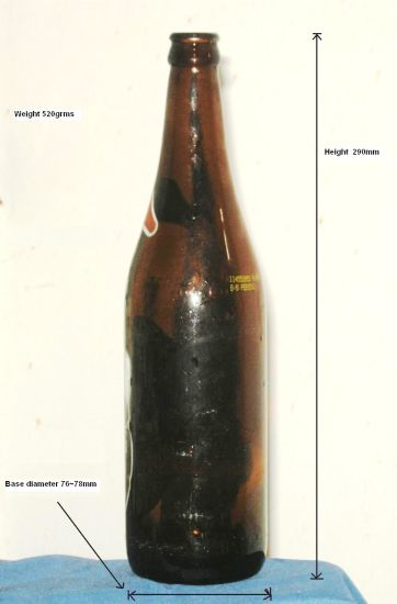 Amber Beer Bottle, 330ml Beer Bottle, 650ml Amber Beer Bottle pictures & photos