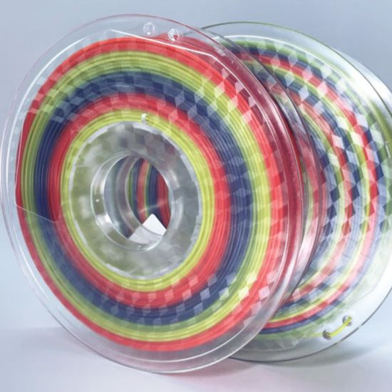 Rainbow Color PLA Filament for 3D Printing Printer pictures & photos
