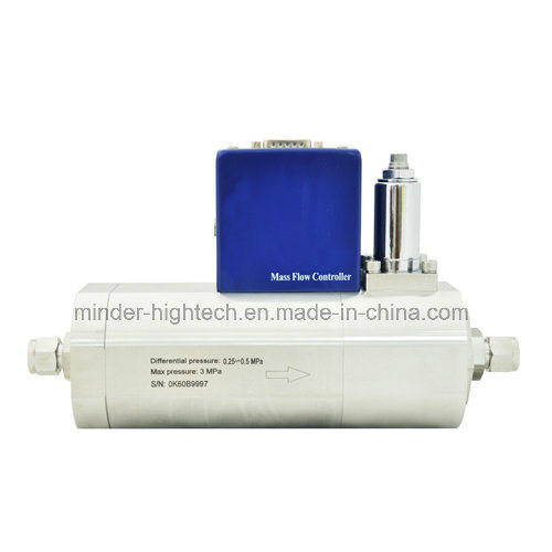 Thermal Throttle Type Analog Gas Mass Flow Controller and Mass Flow Meter