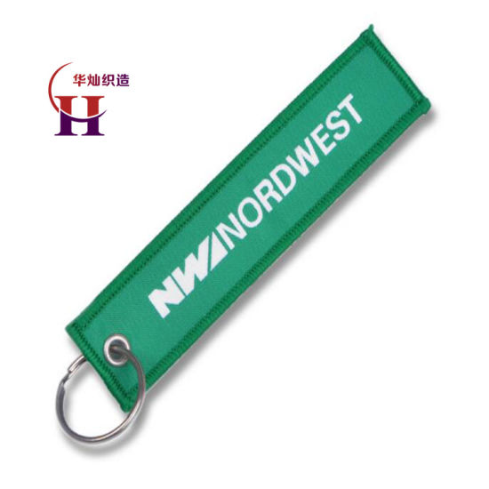 Professional Embroidery Manufacturer Custom Cheap Key Hang Tags