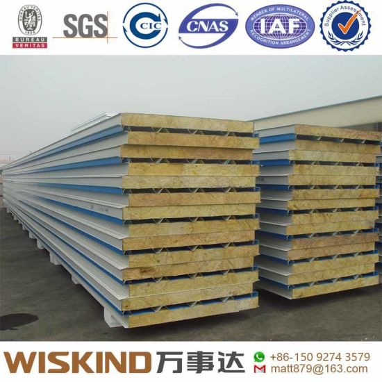China Steel Structure Warehouse Insulated Panels SIP