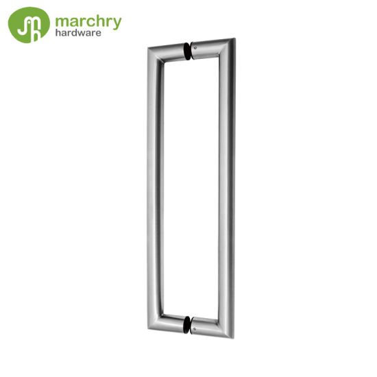 China Stainless Steel Commercial Glass Door Handles - China Glass ...