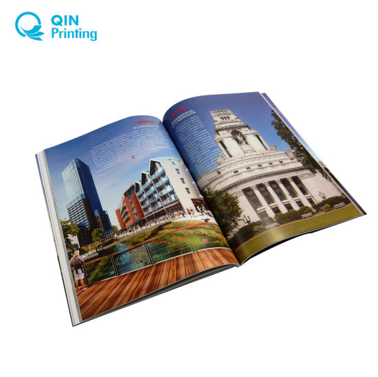 China Commercial Catalog Brochure Magazine Printing Service