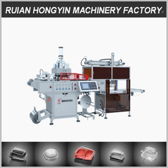 Favorable Price Qualified Automatic Plastic Food Box Forming Machine pictures & photos