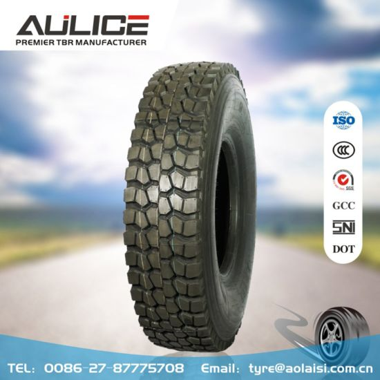 11.00R20 All steel radail truck tyre, AR357 AULICE TBR/OTR tyre factory, truck tire manufacturer with SNI, GCC, ISO certificate