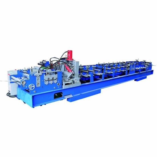 Automatic Change Size C Purlin Roll Forming Machine C60-250 Steel Frame Forming Machine