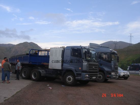 Camc 6X4 CNG Prime Mover, Tractor Head 420HP