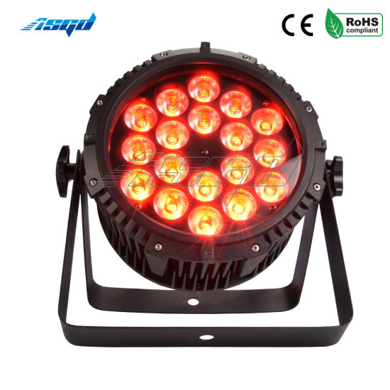 Waterproof PAR Light 18X18W 6in1 Outdoor IP65 Stage Uplighting pictures & photos