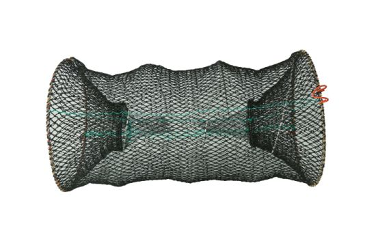 Elastic Spring Crayfish Trap with Bait Bag and Zipper