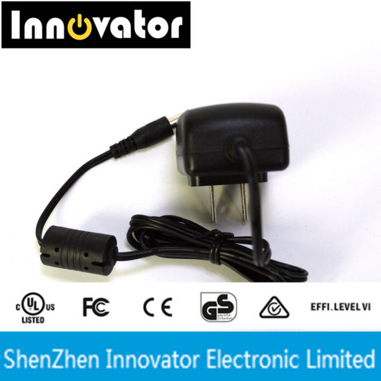 5V 1A 5W Wallmount Type AC DC Power Adapter, Certified by UL Ce RoHS