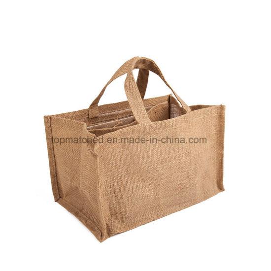 China Online Custom Reusable Folding Shopping Jute Bags Wholesale ... 9bda7e68c