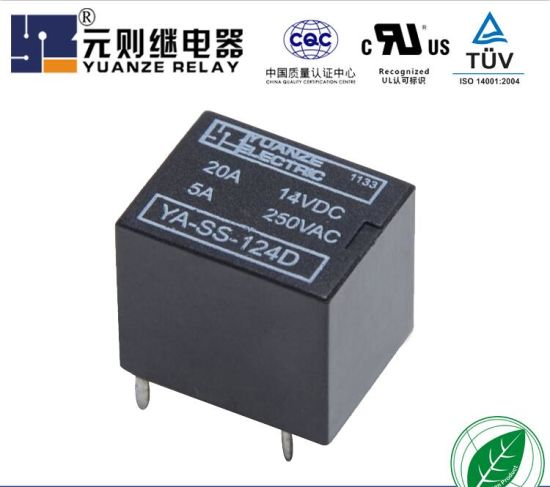 Miniature Relay Auto Relay T78 Relay with RoHS and Reach Report