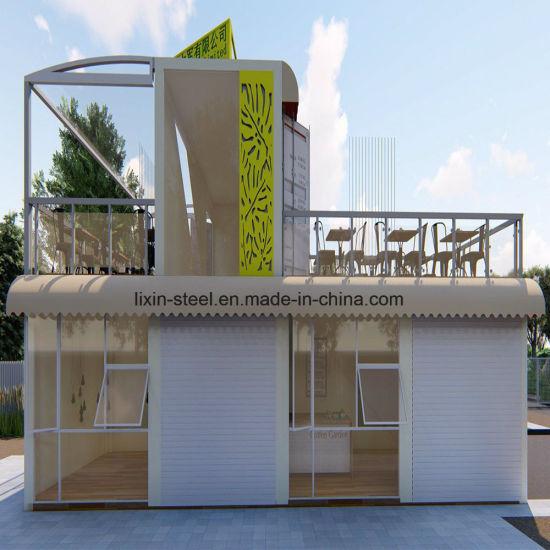 Fast Assembly Prefabricated House Modular Coffee Shop Prefab House