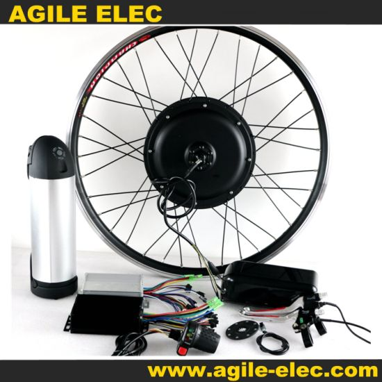 Agile 48V 1000W Electric Bike LCD Kit with 12.5ah Battery
